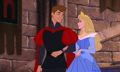 Sleeping Beauty (1959)   With Prince Phillip ~ And they lived happily ever after..........
