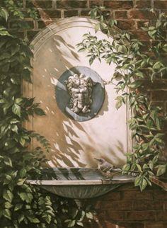 Botanic Garden Trompe L'oeil Mural