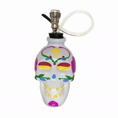 Sugar Skull Bong from shopstaywild.com is perfect for halloween! #cannabis #halloweed #weed #stoner #marijuana #pipe #bubbler #grinder #420 #hightimes #massroots #ganja #skull #kush #chronic #cbd #edibles