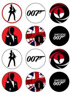 12 James Bond Silhouette Images, Digital Clipart Images, Clipart ...