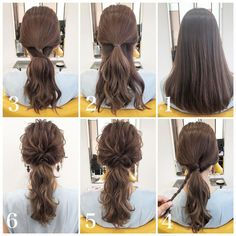 How to style long hair? What's the latest long hairstyle inspo in View to easily get the latest long hair tutorials trends Date Hairstyles, Easy Hairstyles For Long Hair, Homecoming Hairstyles, Elegant Hairstyles, Short Bob Hairstyles, Short Hair Styles Easy, Short Hair With Layers, Medium Hair Styles, Black Hair Pale Skin