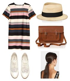 """""""Sunny Day"""" by sarahtonins on Polyvore featuring H&M, Eugenia Kim, The Cambridge Satchel Company and L. Erickson"""