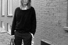 Diesel shirt, H Trend jumper, Étoile by Isabel Marant pants, Alexander Wang shoes and Céline bag.