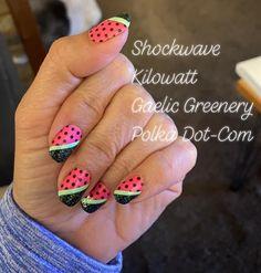 Dry Nail Polish, Nail Polish Strips, Nail Polish Colors, Color Nails, Get Nails, How To Do Nails, Hair And Nails, Nail Color Combos, Party Nails