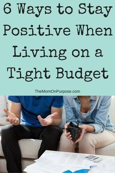 Are you struggling with keeping your spirits up during a tough financial time? Living on a tight budget can be hard. However, there are things you can do to help you feel more optimistic!