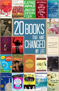 20 books that have changed my life