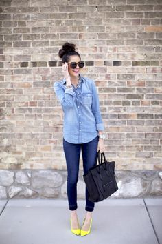 Carpe Denim: The Chambray Shirt