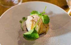 Duck & Pear Bastilla, Herb Salad
