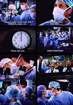 ♡ happy new year ♡ Grey's Anatomy-- one of my favorites Greys Anatomy Funny, Grays Anatomy Tv, Grey Anatomy Quotes, Best Tv Shows, Favorite Tv Shows, Meredith And Derek, Dark And Twisty, Dance It Out, Medical Drama