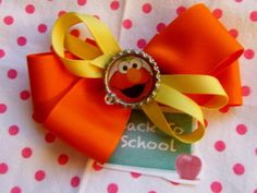 Sesame Street Elmo's World Dress 3T NEW Custom Boutique & Elmo Hair Bow CUTE! - This item is for sale now on ebay. Perfect idea for a Sesame Street Elmo Birthday Party. Search ebay now for item number 190889511022