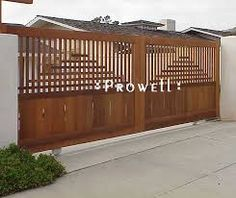 sliding gate driveway - Google Search