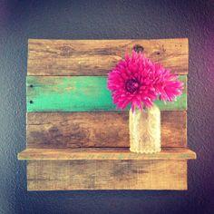 Reclaimed Wood Shelf by 1920Shoppe on Etsy, $35.00