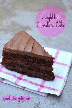 #ChocolateRaspberryCake