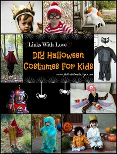 DIY Halloween Costumes for Kids {Felt With Love Designs}