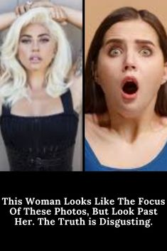 This Woman Looks Like The Focus Of These Photos, But Look Past Her. The Truth is Disgusting. Cool Pins, Weird World, Looking For Women, Humor, Woman, Amazing, Funny, Photos, Animals