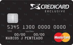 Solicitar cartão credicard-Exclusive_MC_Gold_Grande - Conheça os benefícios e vantagens desse cartão de crédito Credicard Exclusive Gold MasterCard. Saiba como solicitar seu cartão Credicard com 50% de desconto no primeiro ano de anuidade