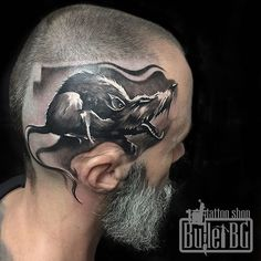 Image result for tattoo head