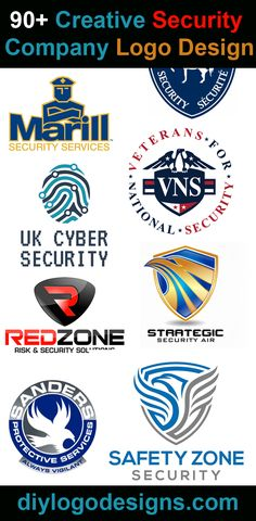 90+ Creative Security Company Logo Design for Inspiration, check out full collection all is amazing logos.