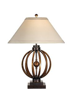 Sunset Longitude Table Lamp 46784 by Wildwood Lamps. Nautical and Contemporary Lamps for Living Room or Bedroom at Discount Prices, Free Shipping.