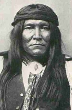 "Cochise, Apache Indian Chief. ""When I was young I walked all over this country, east and west, and saw no other people than the Apaches. After many summers I walked again and found another race of people had come to take it. How is it?"" From the book ""Bury My Heart at Wounded Knee"" by Dee Brown."