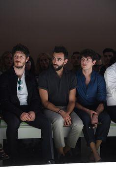 I look dei vip in front row alle sfilate moda uomo per il prossimo autunno-inverno - VanityFair.it