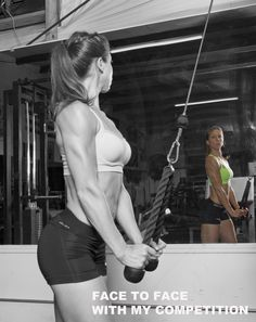 You are your own competition #fitchick #bikinigirl #figuregirl #chickswholift #girlswithmuscle #bodybuilding #muscle #fitgirls #musclemania #fitnessuniverse #fitnessmodel #motivation #inspriration #gym #justdoit #strong