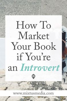 If you're struggling to put yourself and your book out there, this post will be a huge help (and relief! I share five tips that introverted authors can use to master book marketing struggles. Writing Advice, Writing Resources, Writing A Book, Writing Prompts, Writing Quotes, Writing Help, Writing Ideas, Writing Images, Sell Your Books