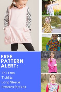FREE PATTERN ALERT: 15+ Free Girl