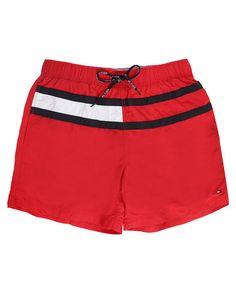 Red Trunk Flag Swim Shorts TOMMY HILFIGER