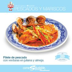Filete de pescado #SoloSanborns #MenuLigero