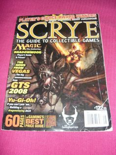 Magic 0808 Scrye The Guide to Collectible Gaming Issue 122 Free Shipping MTG | eBay