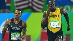 Andre Degrees /Usaine Bolt 2016 Olympics