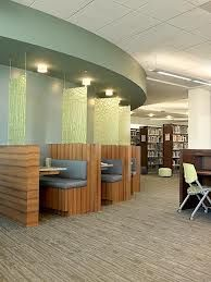 Alternative to Carrels? Library Design, Library Ideas, Library Furniture, Reading Room, Interior Exterior, Color Pallets, Architecture Design, Study, Nice