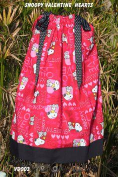 Boutique pillowcase dress featuring Snoopybe by GiraffesJellybeans, $19.99