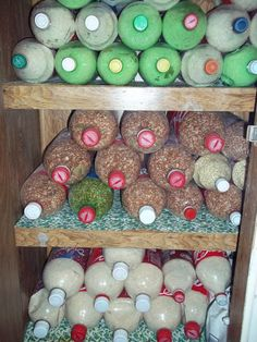 Earthineer blog: Long Term Food Storage---Done Cheaply!