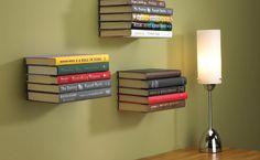 Onzichtbare boekenrek