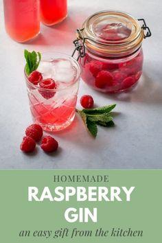 Gin Recipes, Relish Recipes, Chutney Recipes, Raspberry Gin, Raspberry Recipes, Vegan Smoothies, Smoothie Drinks, Vegan Afternoon Tea, Afternoon Tea Parties
