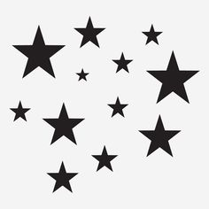 Star decal vinyl stickers pack for home decoration sticker - Decorative - decalsmania.com - Your sticker shop for your car, jdm, racing