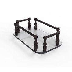 Allied Brass Vanity Top Glass Guest Towel Tray - GT-6-ABZ