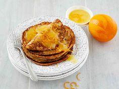 Lettuihin ja kastikkeeseen käytetään sekä appelsiinin mehu että kuori.
