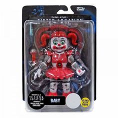 Funko Five Nights at Freddy's Sister Location Baby Exclusive Action Figure [Glow-in-the-Dark] Sister Location Baby, Five Nights At Freddy's, Fnaf Action Figures, Funko Pop, Fnaf Baby, Freddy 's, The Fragile, Christmas Gifts For Her, Cool Gifts