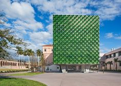 Ringling Asian Arts Centre museum architecture with terracotta tiles, Florida, USA