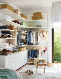 New small closet organization diy bedroom cupboards ideas Bedroom Organization Diy, Small Closet Organization, Bedroom Storage, Ikea Storage, Small Storage, Storage Organization, Diy Wardrobe, Wardrobe Storage, Small Wardrobe