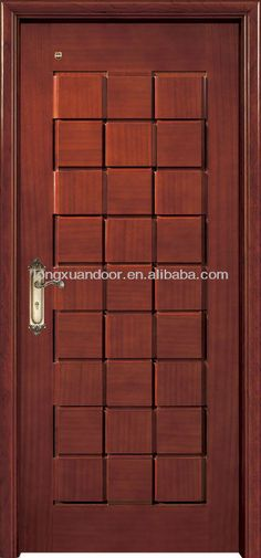 chinese front wooden door cataluge materialhdfcomposite wood standard good quality and cheap