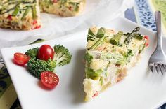 chicken and vegetable frittata
