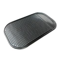 STORM MART Magic Sticky Anti-Slip Mat - Black,Car Grip Pad Non Slip Sticky Anti Slide Dash Cell Phone Mount Holder Mat 2pcs (black). Hold any of your light devices with this and stick it wherever it needs to be. No adhesive or magnet needed, it can keep the items such as phones, coins, keys, etc. placed on dashboard in order. Multi-function anti-slip mat with super strong adsorbability. We have a good double packaging to protect consumer's product (as the picture). Please enjoy the…