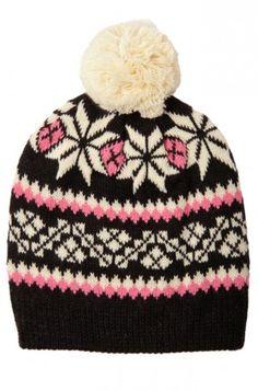 Louche Abacus Snowflake Hat