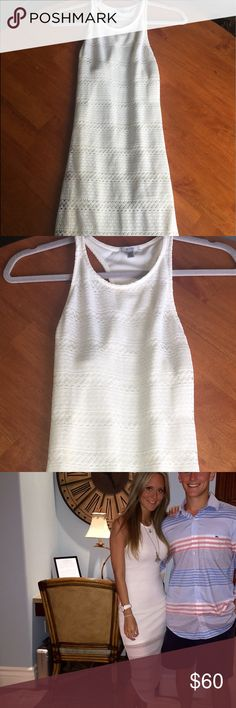 Urban outfitters dress Cute off white dress from urban outfitters. Size small. Only worn once and in perfect condition. Urban Outfitters Dresses Midi
