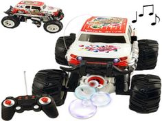 Remote Control Car For Boys RC Bubble Truck Toy Pretend Play Battery Operated #FliopToys http://www.ebay.com/itm/-/162300655649?ssPageName=STRK:MESE:IT