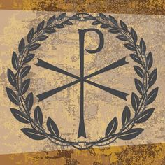 Chi Rho Symbol Tattoo | letters of CHRIST and directly ties the symbol to Christ. Chi: symbol ...